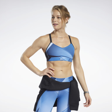Women Yoga Reebok Hero Medium-Impact Strappy Bra