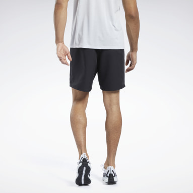 Men Running Black Shorts