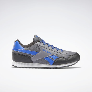 Boys Classics Grey Reebok Royal Classic Jogger 3 Shoes