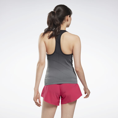 Canotta United by Fitness Seamless Nero Donna Fitness & Training