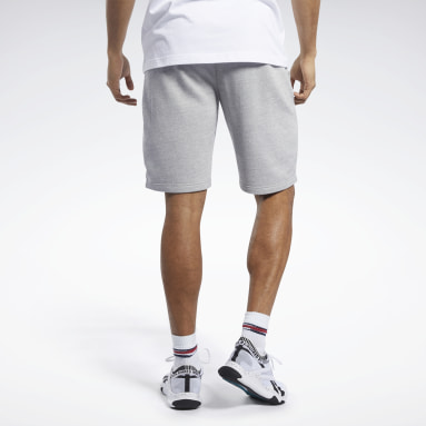 Short Training Essentials Grey Hommes Entraînement