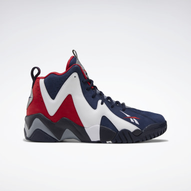 Men Classics Blue Kamikaze II Men's Basketball Shoes