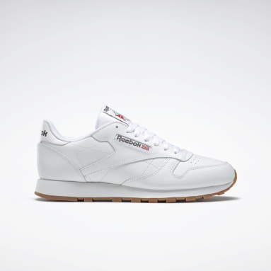 Classics Wit Classic Leather Schoenen