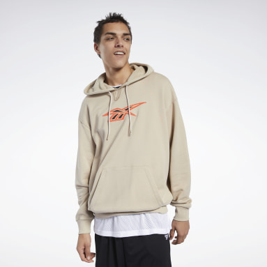 CL BBALL HOODIE Beige Hombre Classics