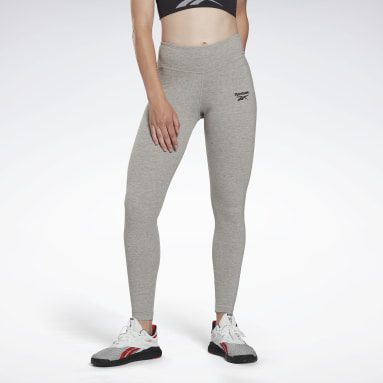 Frauen Fitness & Training Reebok Identity Leggings Grau