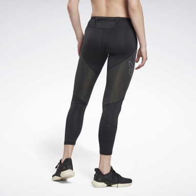 Women Terrengløping Black One Series Running Vector Tights