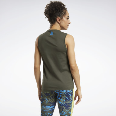 Women CrossFit Green CrossFit® Games Crest Tank Top