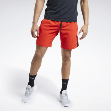 Short Workout Ready Rouge Hommes Fitness & Training