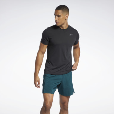 Men Trail Running Black Run Essentials Speedwick T-Shirt