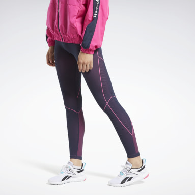Women Cross Training Blue Meet You There 7/8 Tights