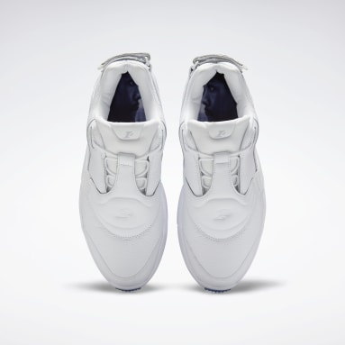 Classics White Answer V Low Basketball Shoes