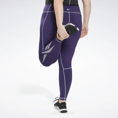 Women Yoga Workout Ready Vector Leggings (Plus Size)