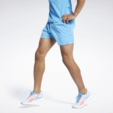 Men Running Blue Run Essentials 5-Inch Shorts