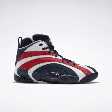 Classics Blue Shaqnosis Basketball Shoes