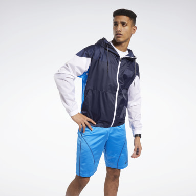 Men Fitness & Training Blue MYT Jacket