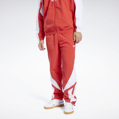Men Classics Red Classics Twin Vector Track Pants