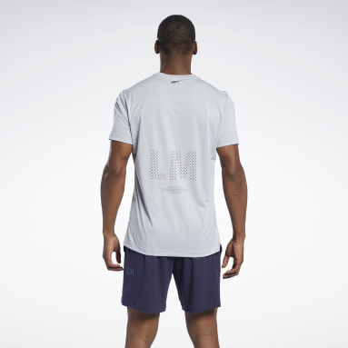 Men Studio Les Mills® Knit Short Sleeve Tee