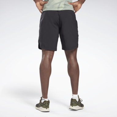 WOR WOVEN GRAPHIC SHORT Negro Hombre Fitness & Training