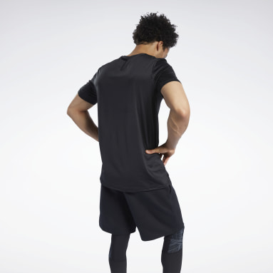 Mænd Yoga Black SmartVent Graphic Tee