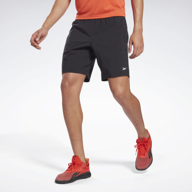 Mænd HIIT Black Workout Ready Shorts