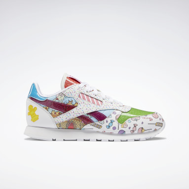 Candy Land Classic Leather Blanco Niño Classics