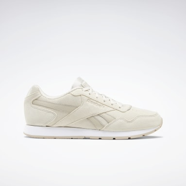 Women Classics Beige Reebok Royal Glide Shoes