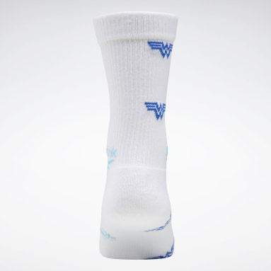 Classics White Wonder Woman Crew Socks