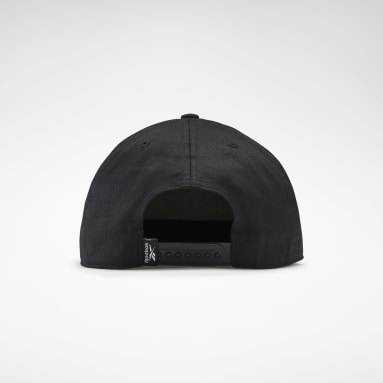 Running Black Active Core Linear Logo Cap