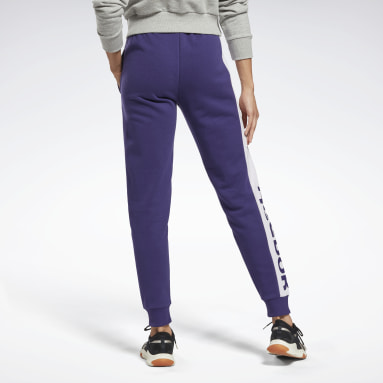 Dames Fitness & Training Linear Logo French Terry Broek