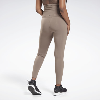 Frauen Studio Reebok Lux Maternity Tight 2.0 Grau