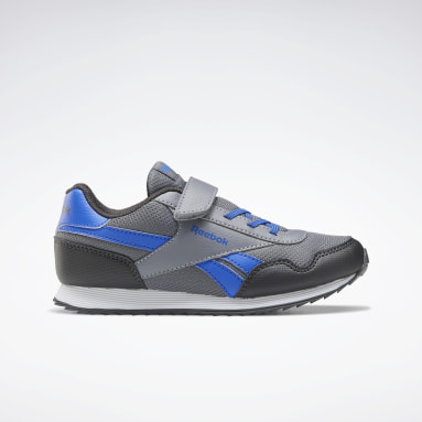 Kids Classics Grey Reebok Royal Classic Jogger 3 Shoes