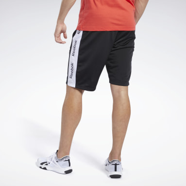 Men Fitness & Training Black Training Essentials Linear Logo Shorts