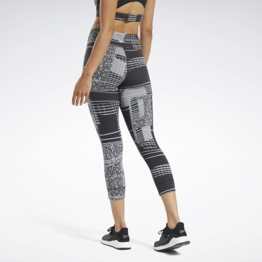 Women Cycling Black Lux 3/4 Deconstructed 2 Leggings
