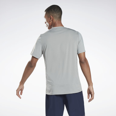 Men Fitness & Training Grey Activchill Move T-Shirt