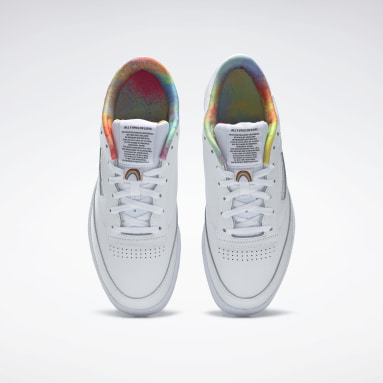 Classics White Club C 85 Pride Shoes
