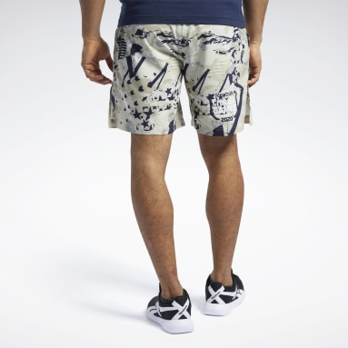 Men CrossFit Reebok CrossFit® Games Austin II Allover Print Shorts