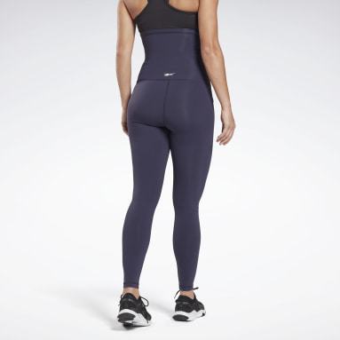 Women Studio Purple Reebok Lux Maternity 2 Leggings