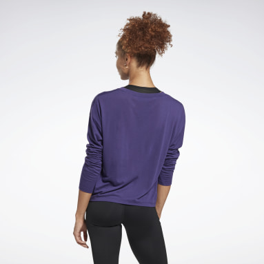 Women Yoga Workout Ready Supremium Long-Sleeve Top T-Long-Sleeve Top