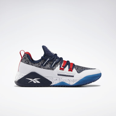 Boys Cross Training Blue Reebok JJ III Shoes