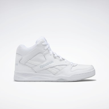 Men Classics White Reebok Royal BB 4500 Hi 2 Men's Basketball Shoes
