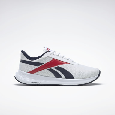 Men Running White Energen Plus Shoes