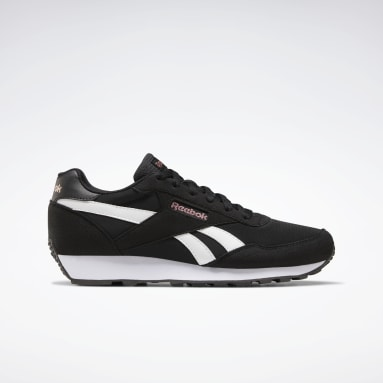 Women Classics Black Reebok Rewind Run Shoes