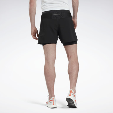 Men Running Black One Series Running Epic Two-in One Shorts