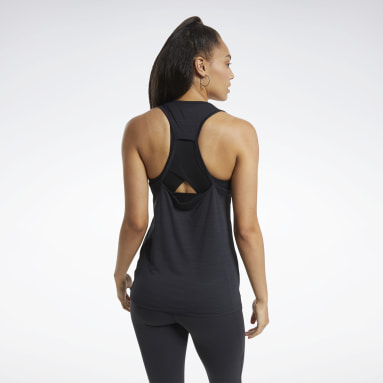 Women Training Black ACTIVCHILL Athletic Tank Top