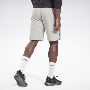 Short avec bandes Training Essentials Gris Hommes Fitness & Training