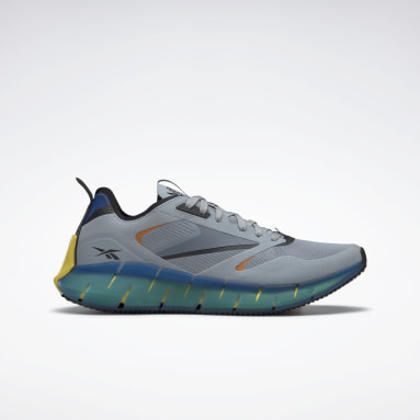 Classics Grey Zig Kinetica Horizon Shoes