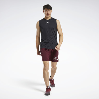 Men Fitness & Training Black ACTIVCHILL Sleeveless Tee