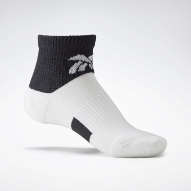 Women Classics White VB Ankle Socks