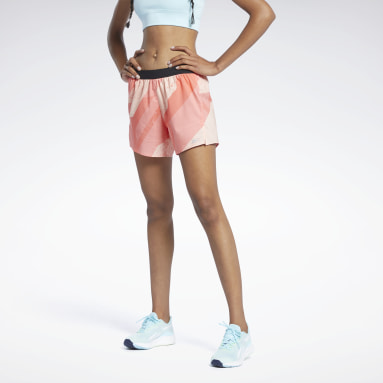 Dames Trail Running Run Essentials Allover Print Short