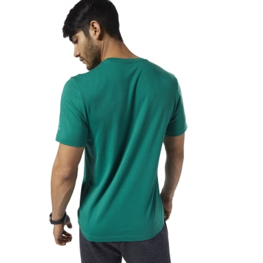 Playera Graphic Series One Series Training Shift Blur Verde Hombre Fitness & Training